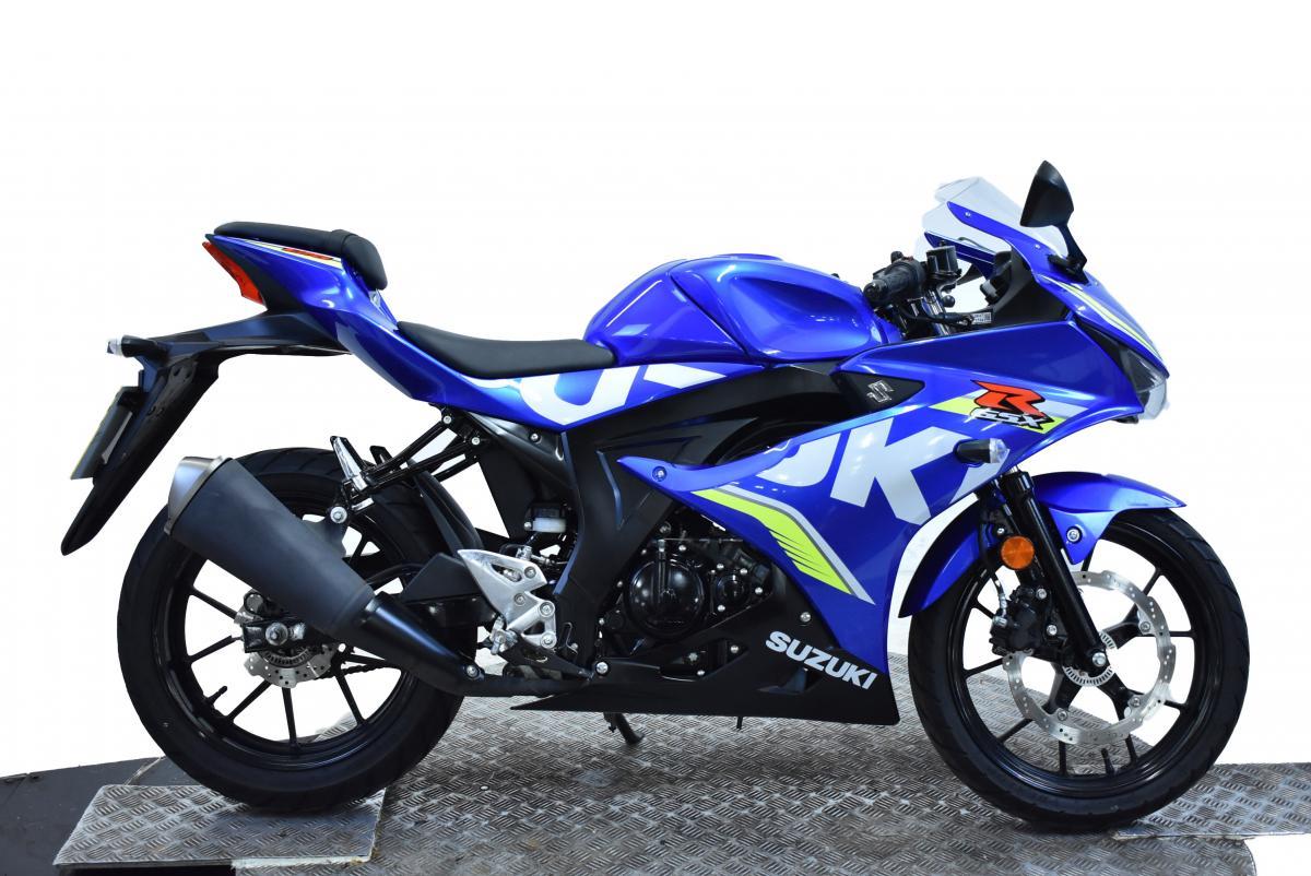 SUZUKI GSXR 125 GP ABS