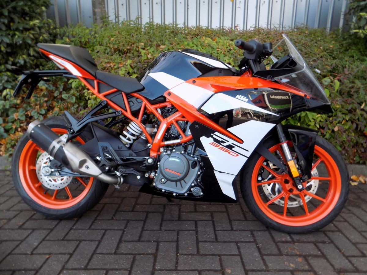 KTM RC 390 birmingham