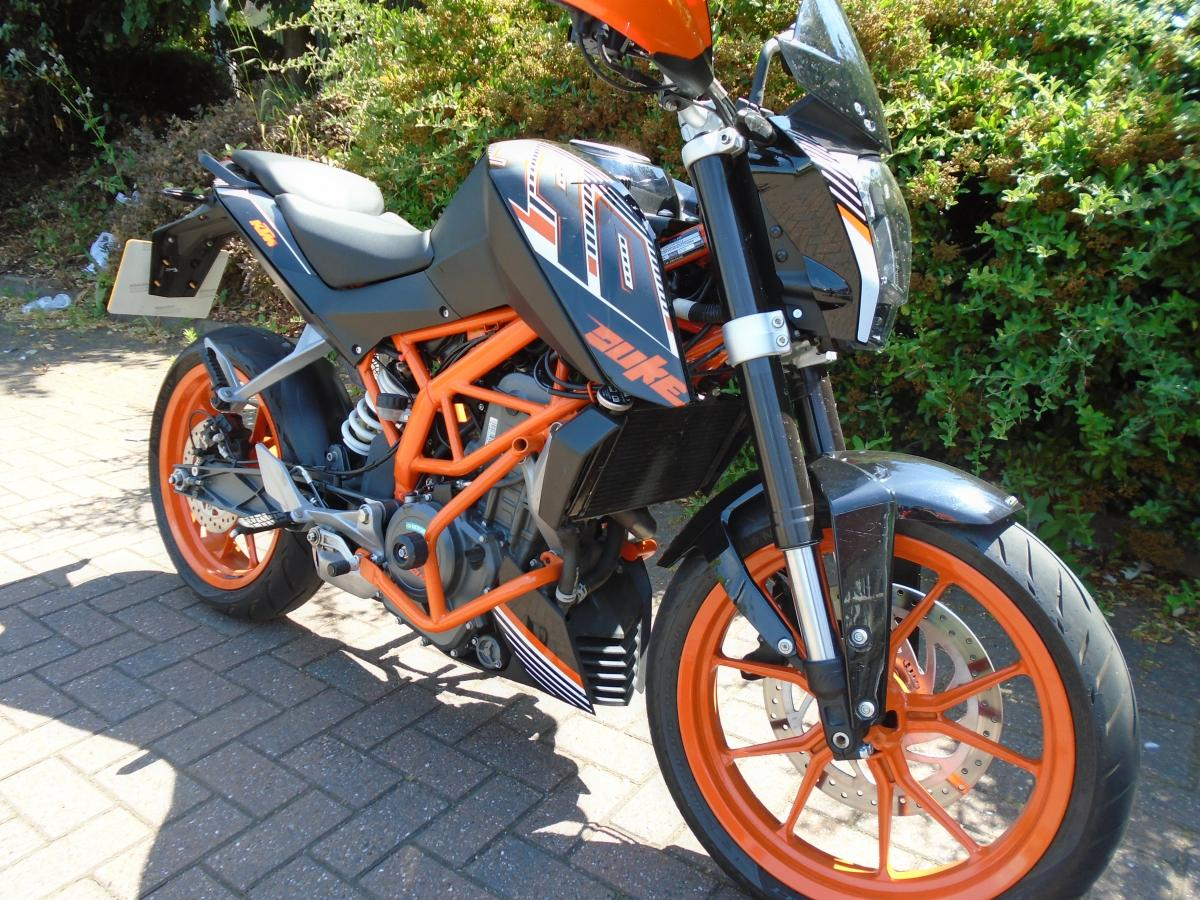 KTM 390 DUKE 16 birmingham