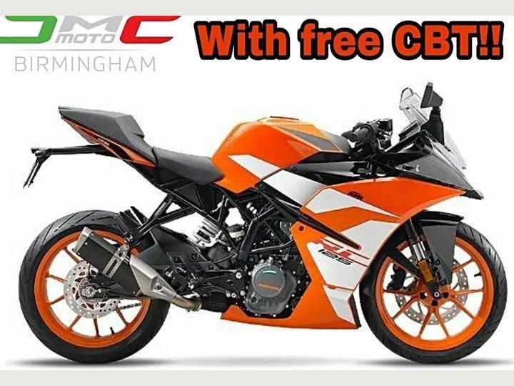RC 125 ABS birmingham