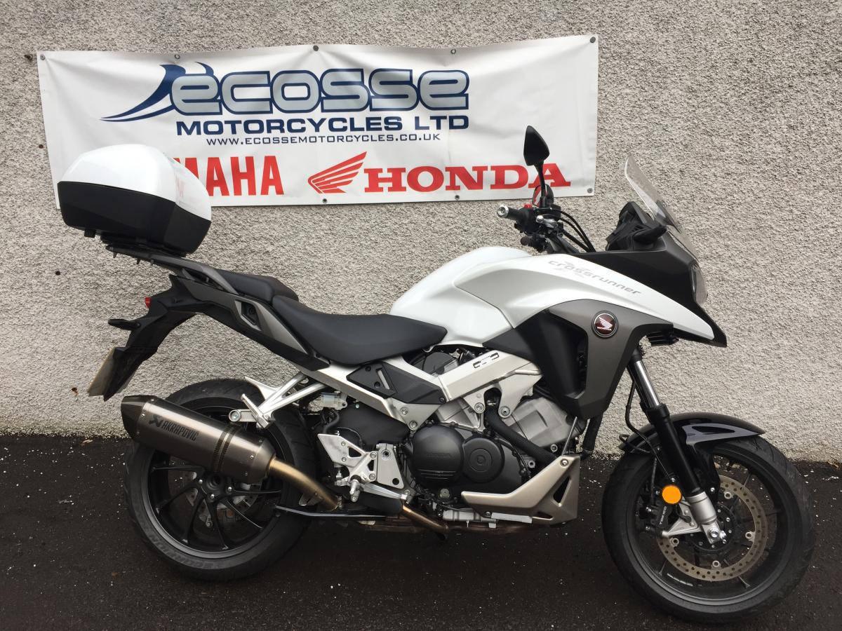 ecosse motorcycles - honda vfr800x crossrunner for sale in dundee
