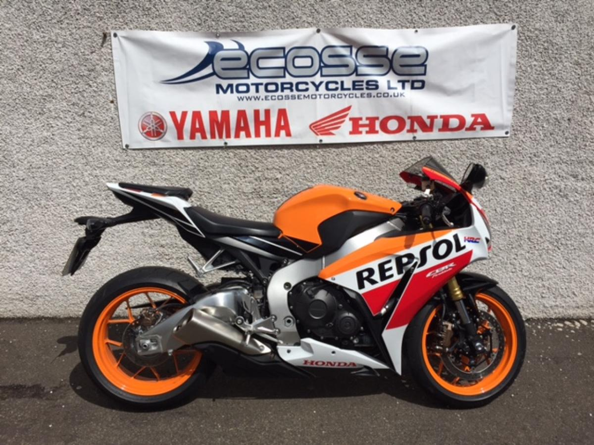 ecosse motorcycles - honda cbr1000r abs for sale in dundee, scotland