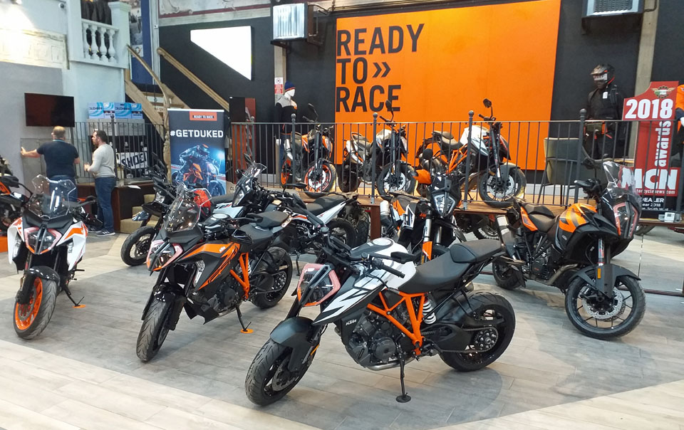 New KTM Street Bike dealer for Dorset