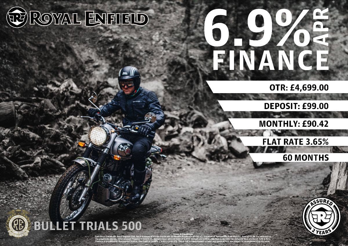 Royal Enfield Low Rate Finance Deals
