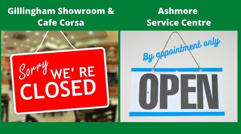 Ashmore Service Centre Open for Service & MOT