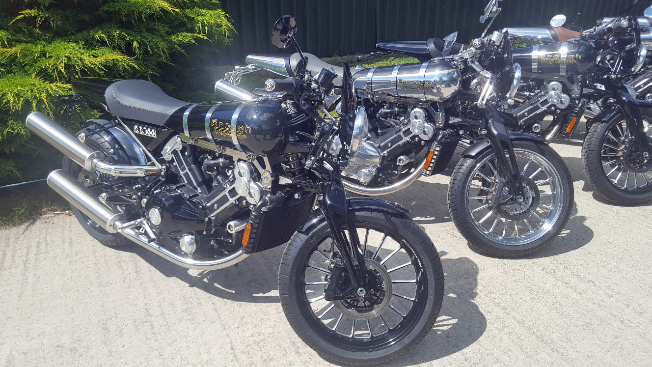 Save £25k on a new Brough Superior SS100
