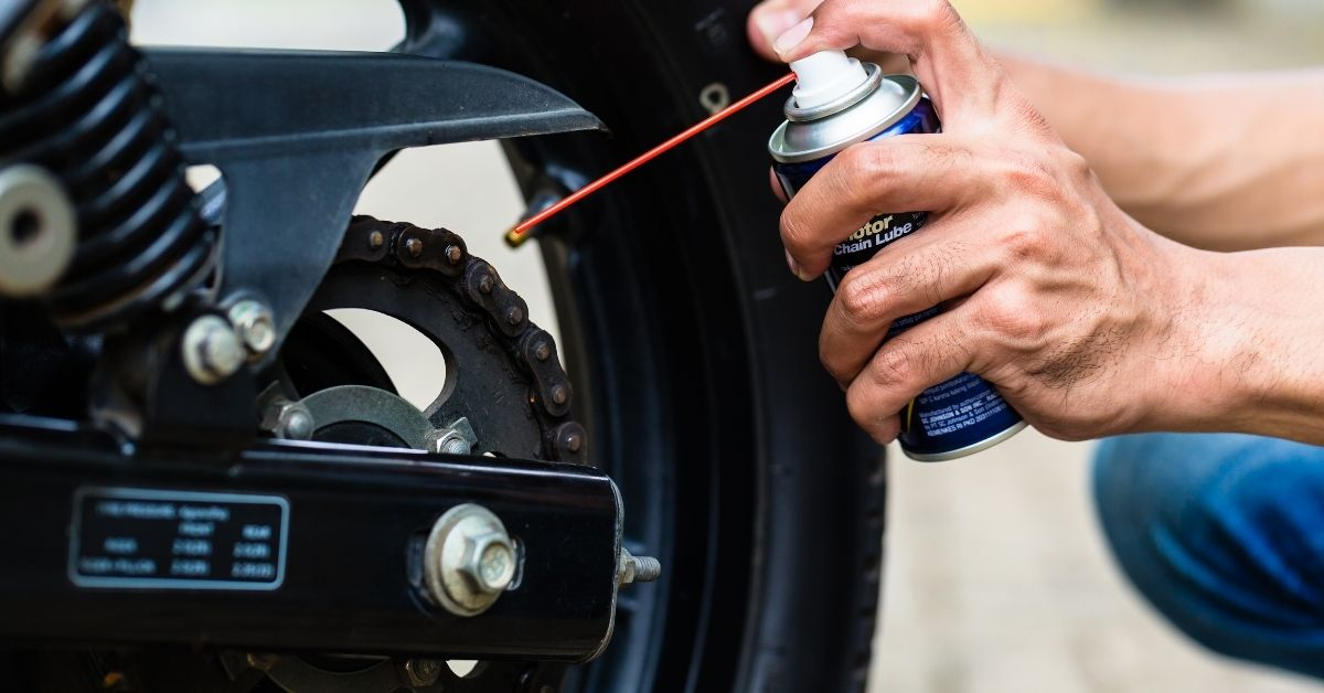 Motorcycle Chain Care