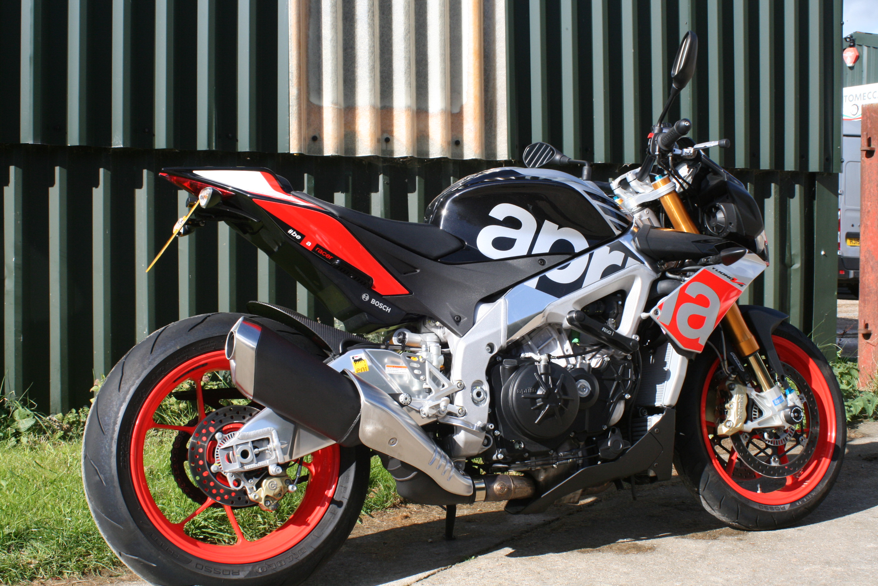 APRILIA JOINS THE PARTY!  SPICE UP YOUR LIFE!