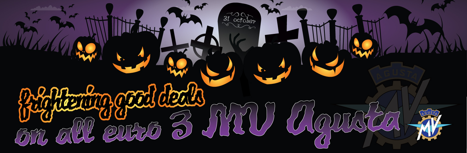 HALLOWEEN DEALS THAT WILL WAKE THE DEAD!!