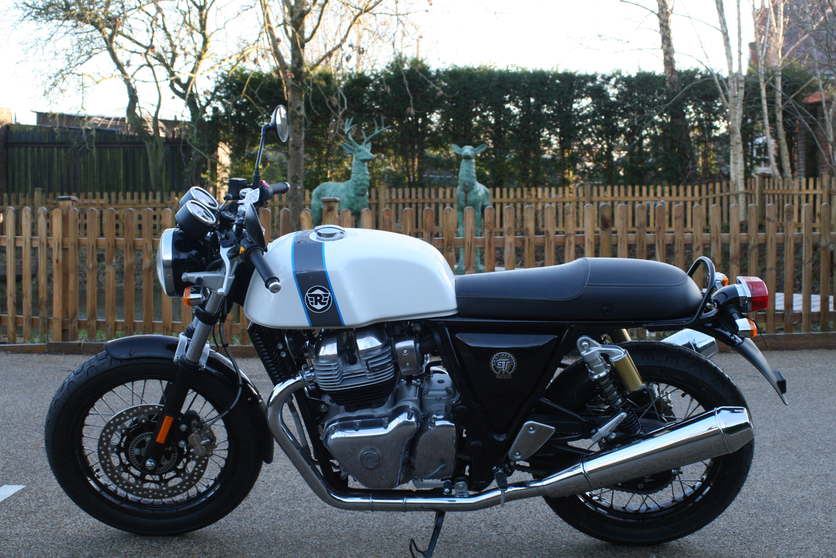 THE RE CONTINENTAL GT 650 TWIN HAS ARRIVED!!