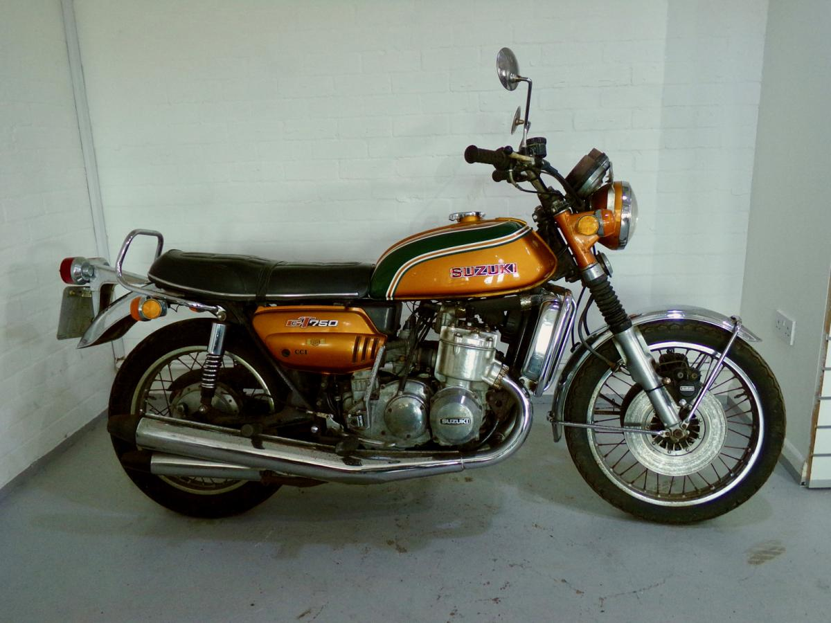 Suzuki GT 750 classic motorcycle for sale in Sheffield