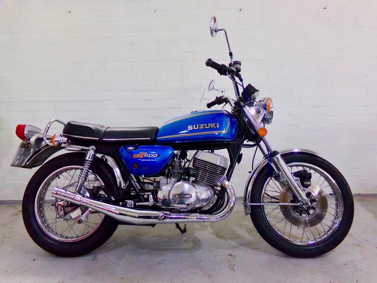 Suzuki GT 500 classic bike for sale in South Yorkshire