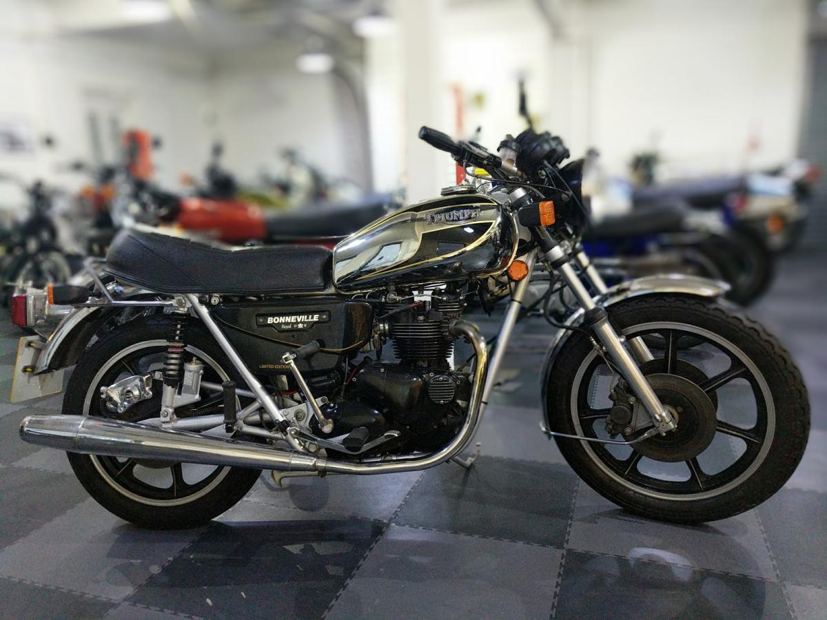 Triumph Bonneville Royal Wedding classic motorcycle for sale in Sheffield