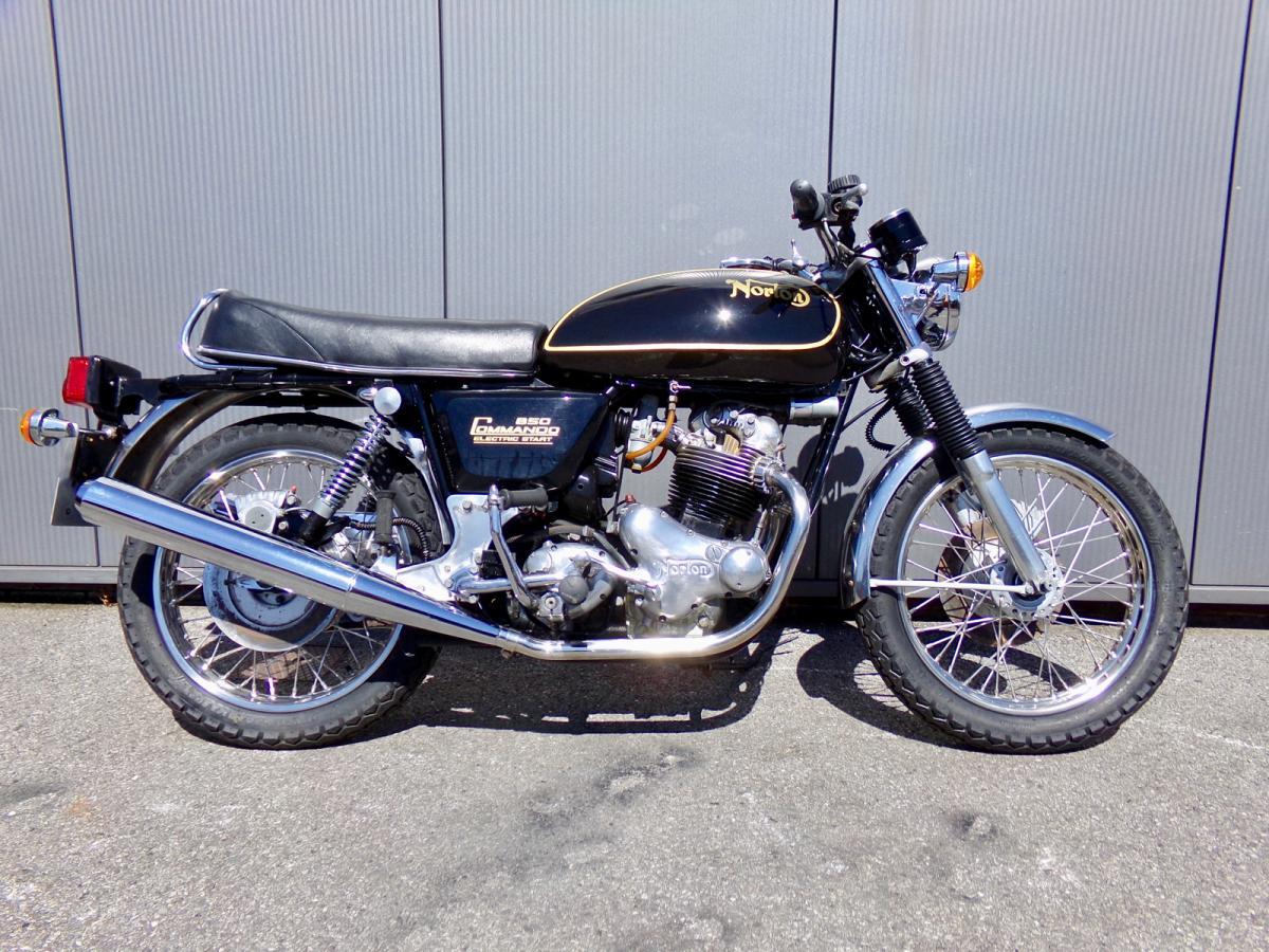 Norton Commando 850 classic bike for sale in South Yorkshire