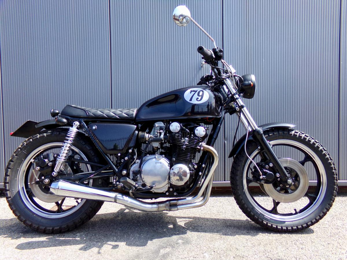 Suzuki GS550 classic motorcycle for sale in Sheffield