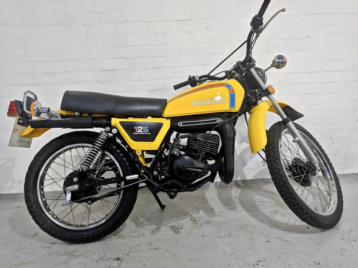 Suzuki TS 125 classic bike for sale in South Yorkshire