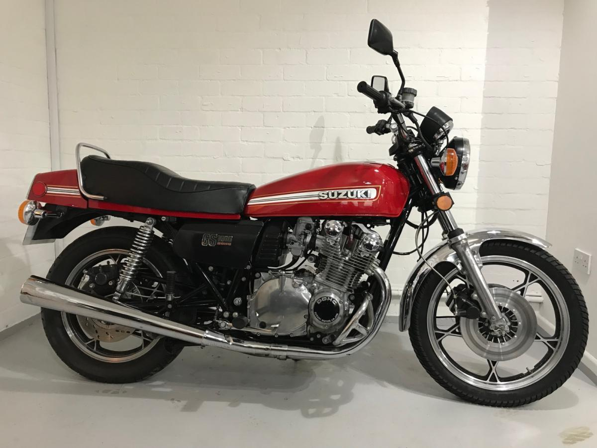 Suzuki GS1000 classic motorcycle for sale in Sheffield