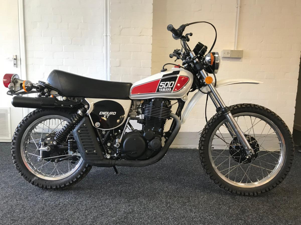 Yamaha XT500 classic bike for sale in South Yorkshire