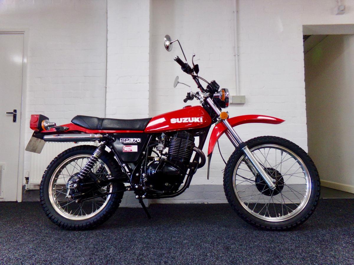 Suzuki SP 370 classic bike for sale in South Yorkshire