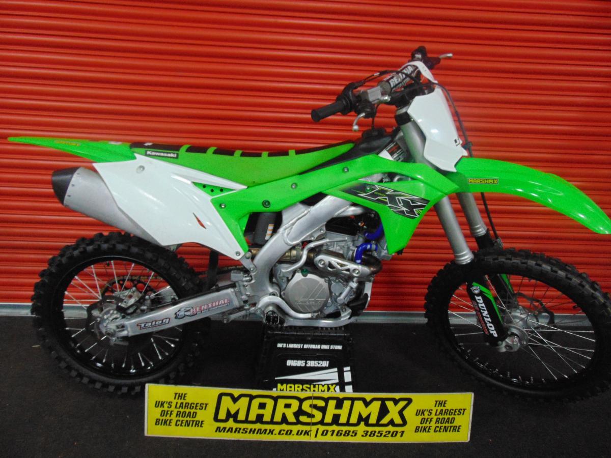 KX 250 F style=