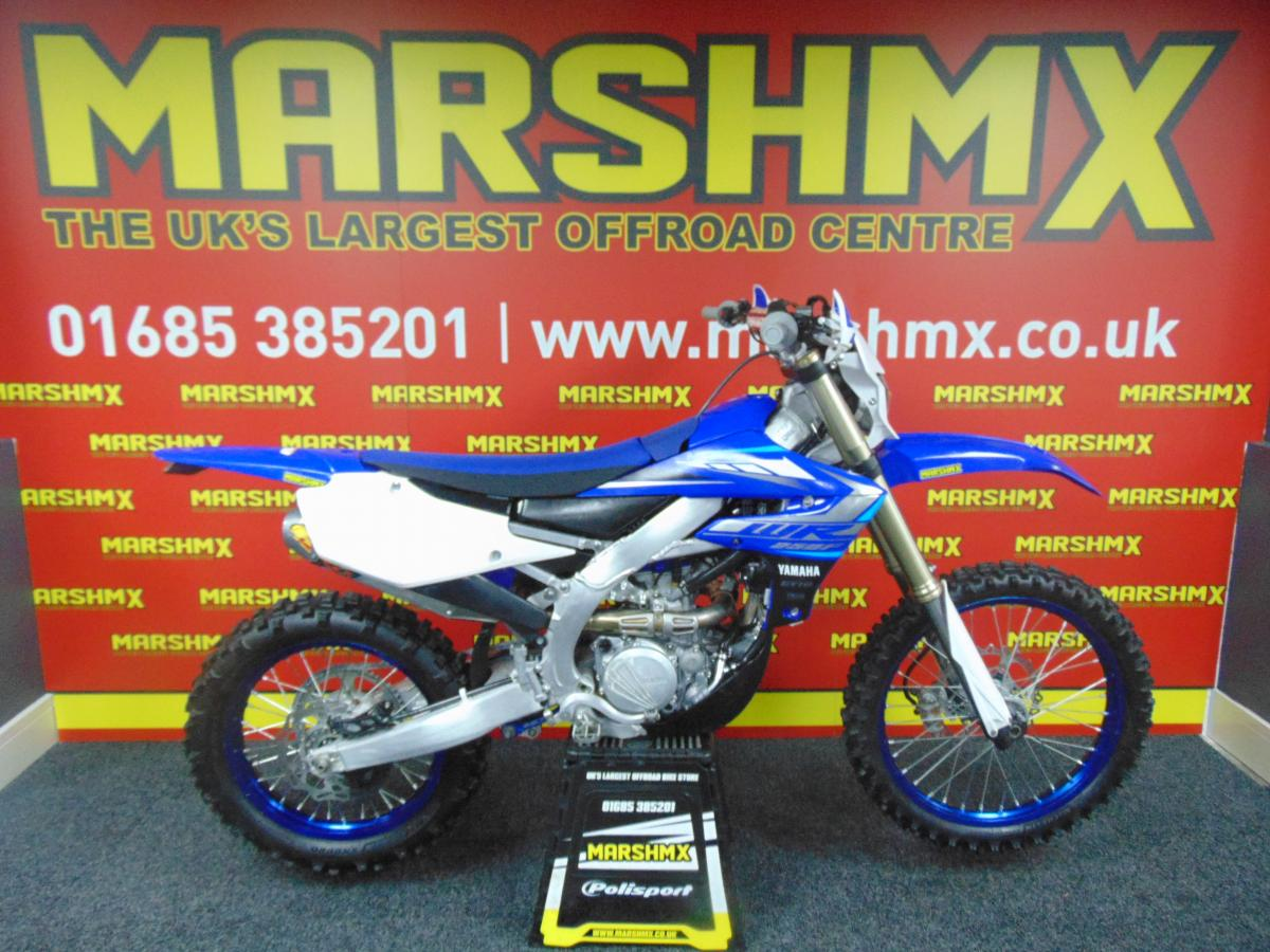 WR 250 F  style=