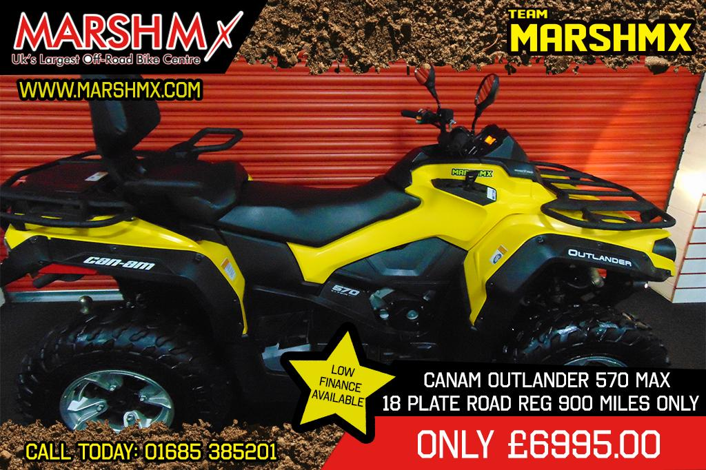 OUTLANDER MAX 570 style=
